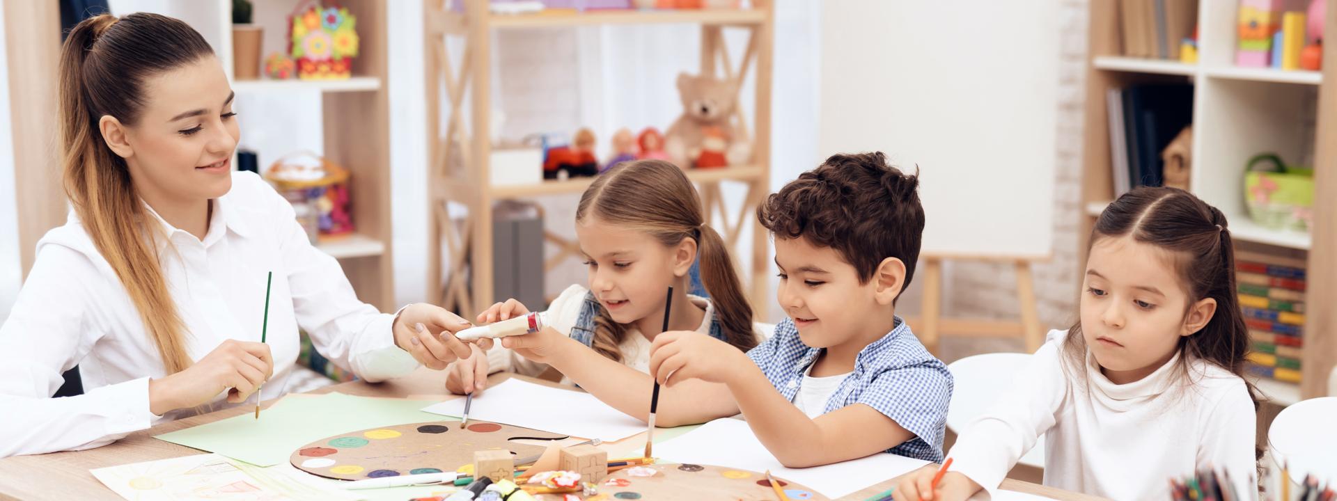 Арт-курсы для детей 4-6 лет