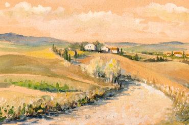 Мастер-класс «Пейзажи Тосканы»